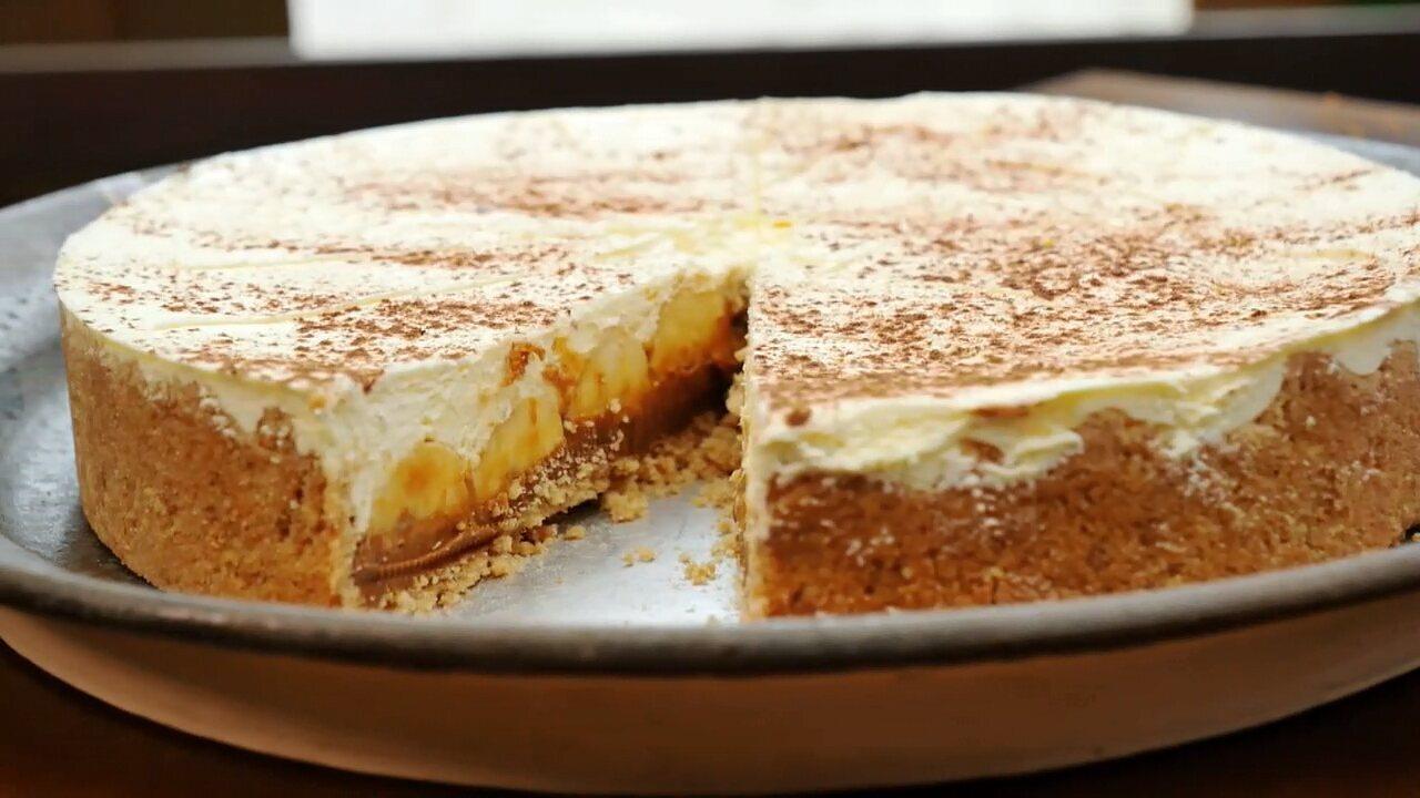 Aprenda a fazer uma deliciosa torta banoffee