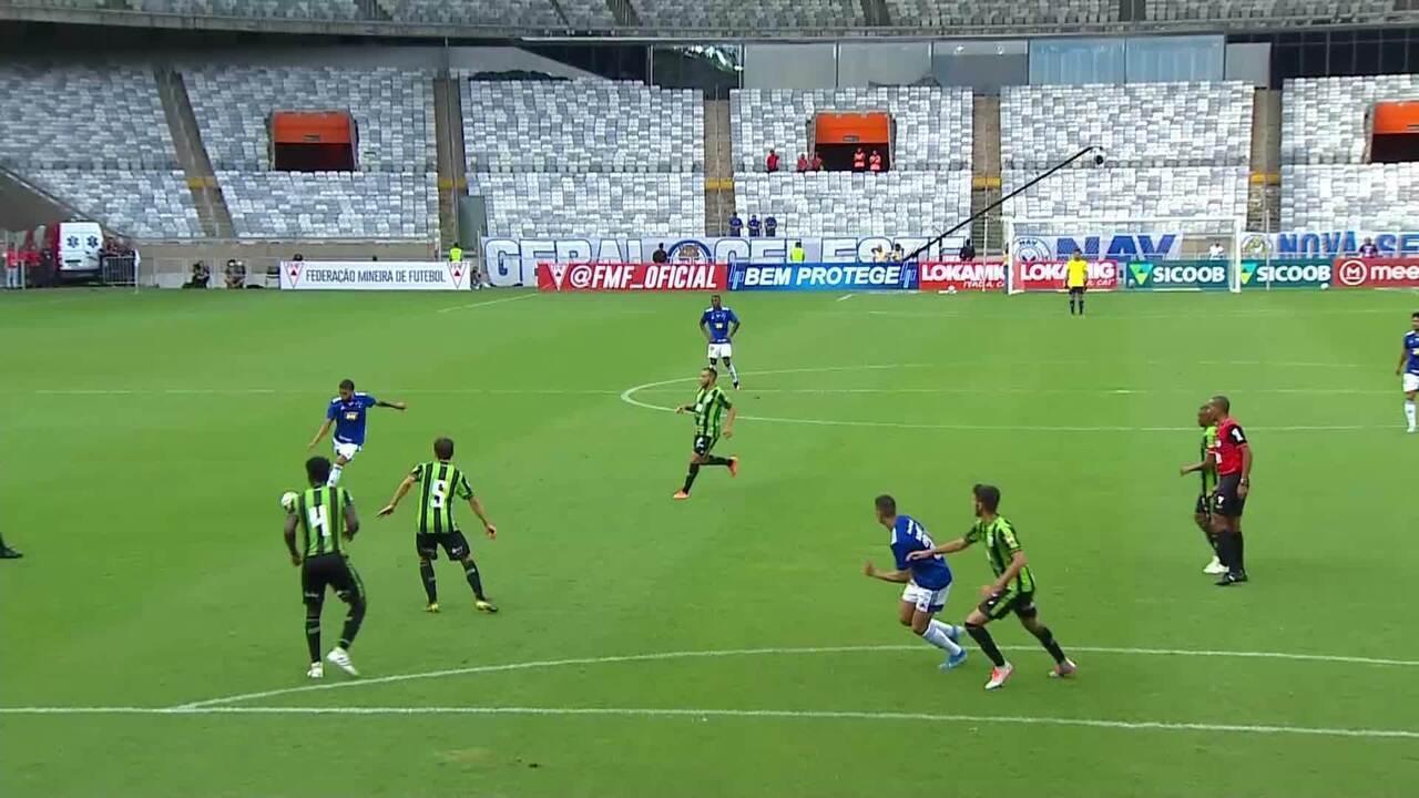 Melhores momentos de Cruzeiro 1 x 1 América-MG pela quinta rodada do Campeonato Mineiro