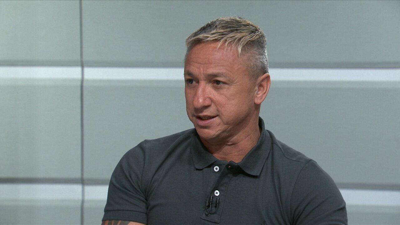 """""""Acho que o Corinthians tem um bom time"""", diz Paulo Nunes"""