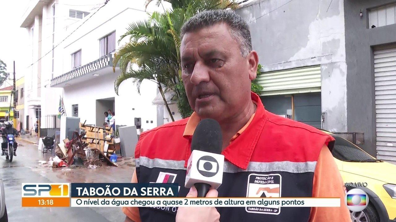 Engenheiro da Defesa Civil de Taboão da Serra faz balanço dos estragos causados pela chuva