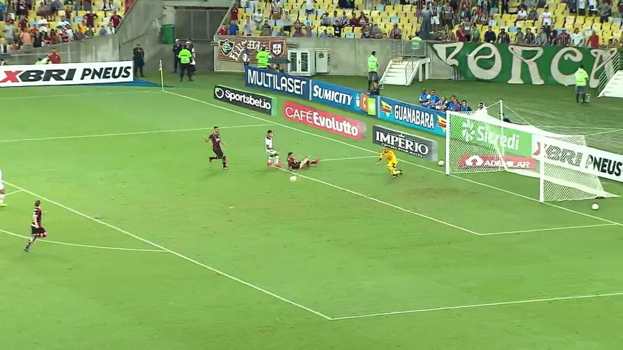 Melhores momentos de Fluminense 2 x 3 Flamengo pela semifinal da Taça Guanabara
