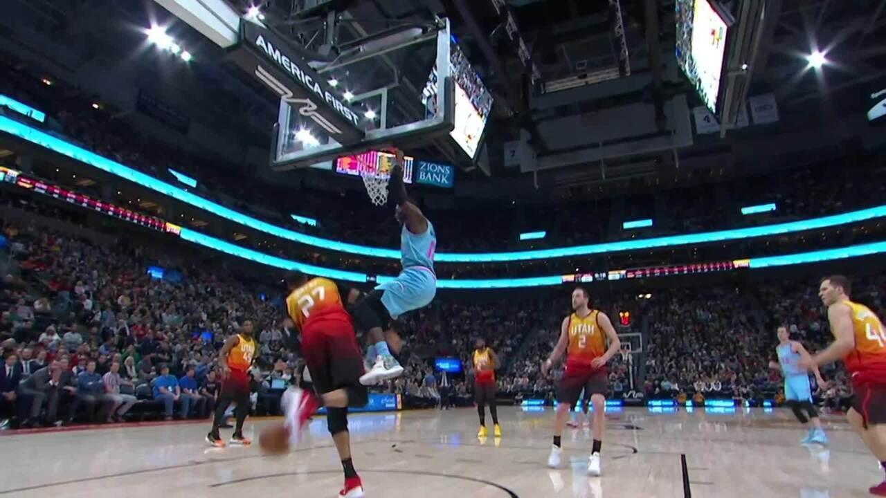 Melhores momentos: Utah Jazz 116 x 101 Miami Heat, pela NBA