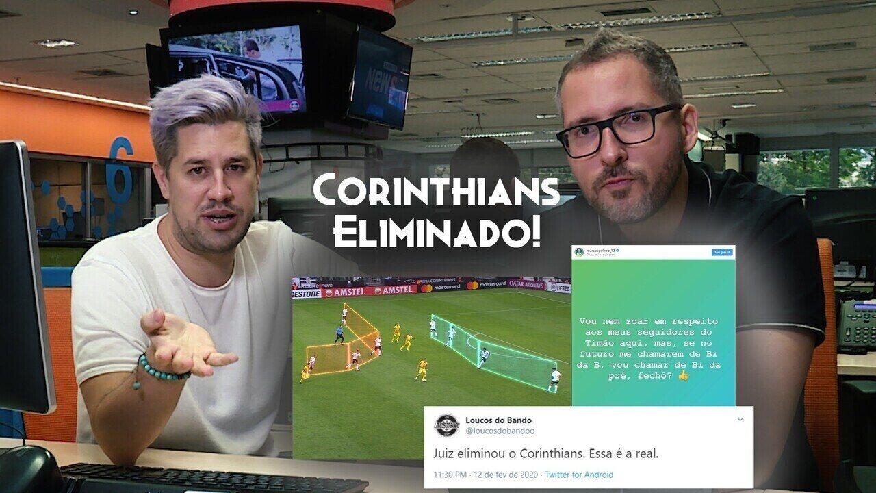 Como e por que o Corinthians foi eliminado pelo Guaraní na Libertadores; veja análise