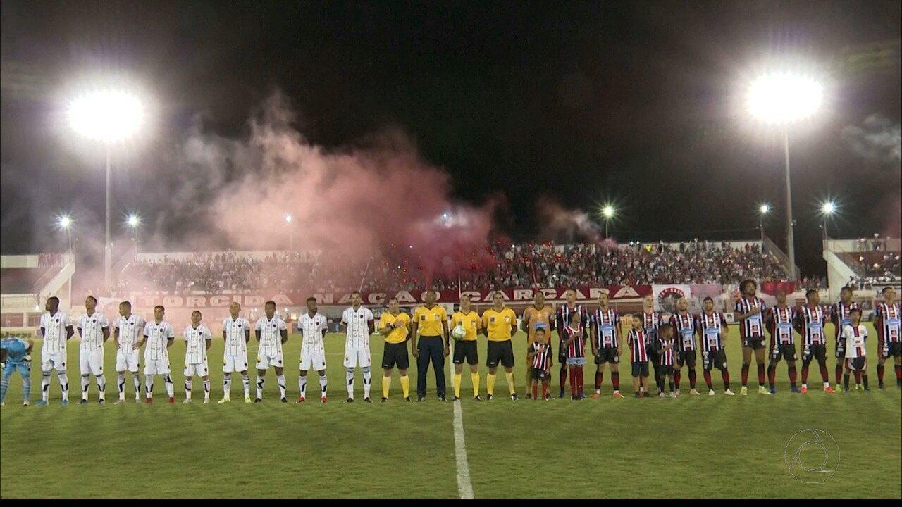 Reportagem sobre Atlético-PB 0 x 0 Botafogo-PB, pela primeira fase da Copa do Brasil