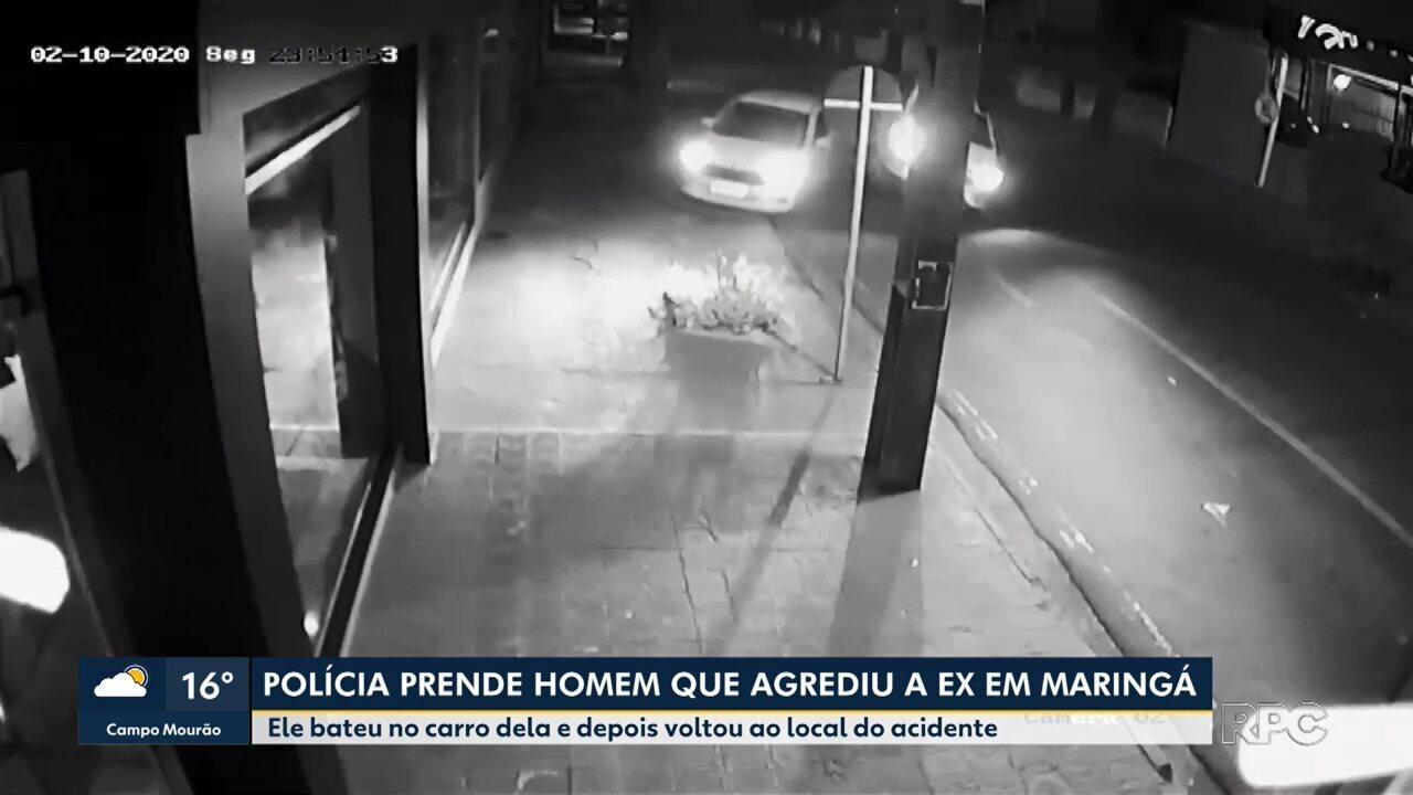 Polícia prende homem suspeito de agredir a ex-namorada