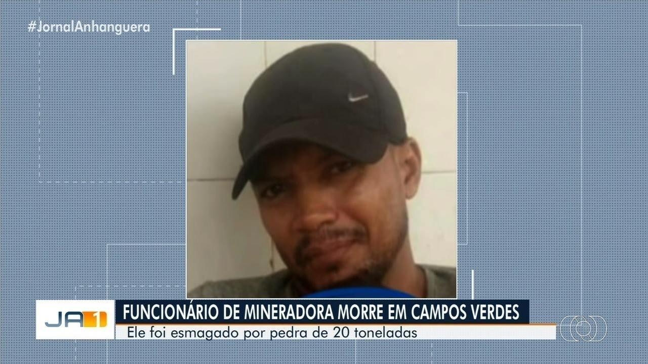 Funcionário de mineradora morre após desmoronamento em Campos Verdes
