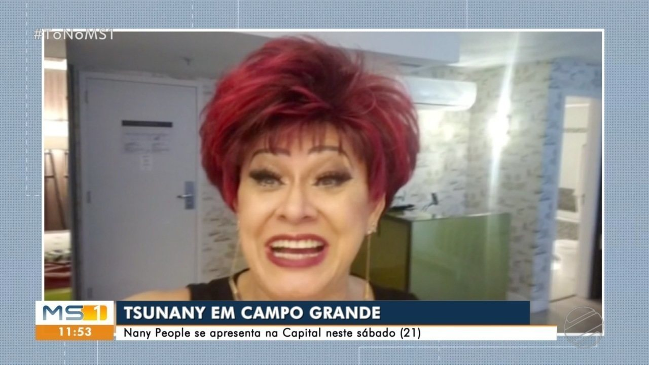 Nany People chega com Tsunany neste fim de semana na capital de MS