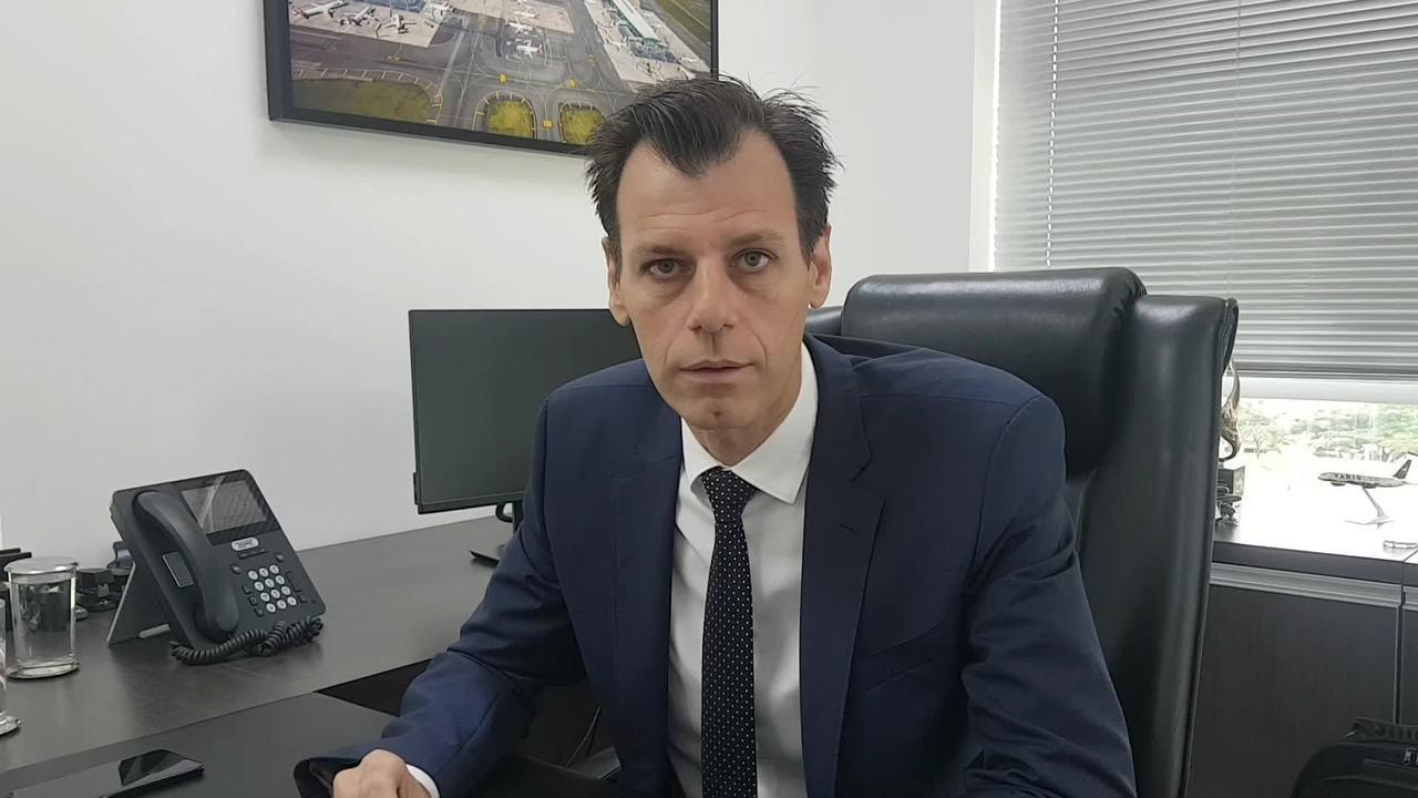 O secretário de Aviação Civil, Ronei Glanzmann, fala sobre preço de passagens aéreas