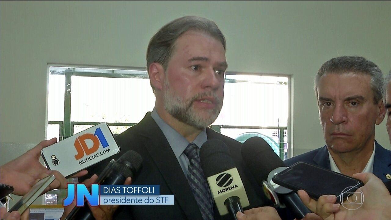 Dias Toffoli repudia assassinato de jornalista que denunciava tráfico na fronteira