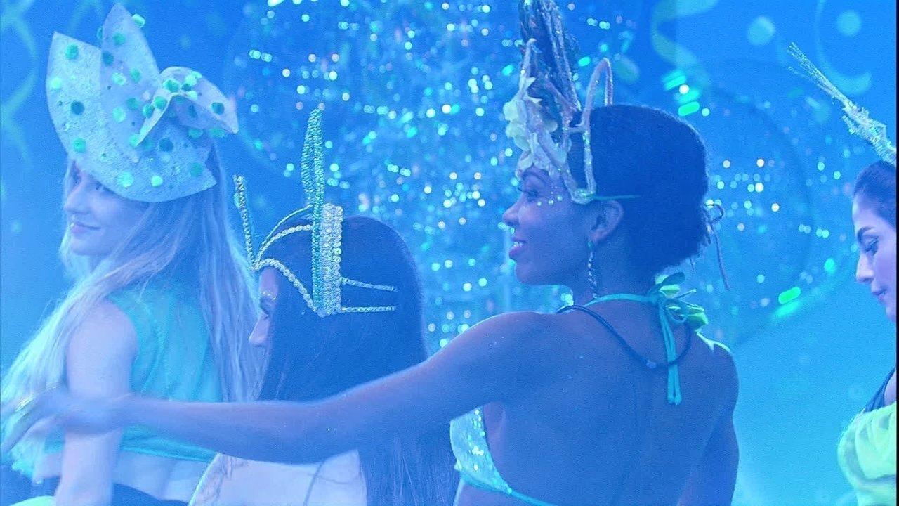 Sisters comandam a pista da Festa Liga o Fresh com coreografia