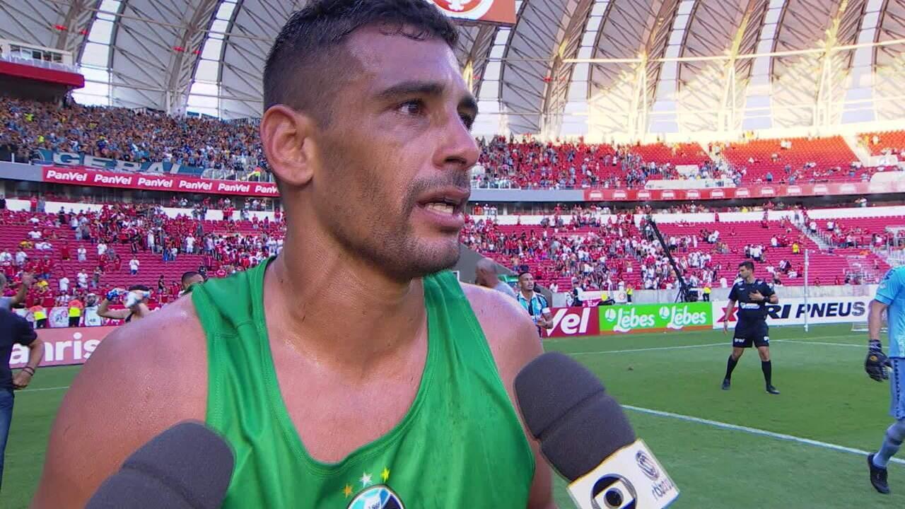 Diego Souza fala sobre o gol e vitória no Gre-Nal 423