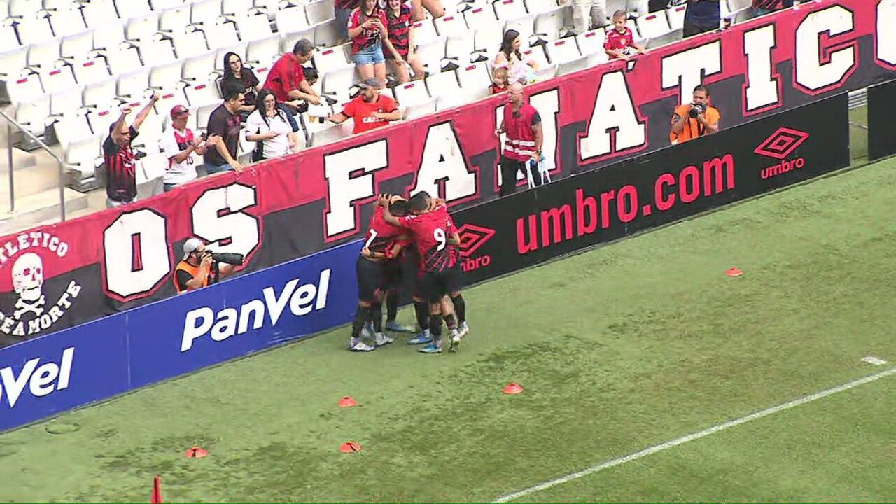 Os gols de Athletico 3x0 Toledo, pela sétima rodada do Campeonato Paranaense de 2020