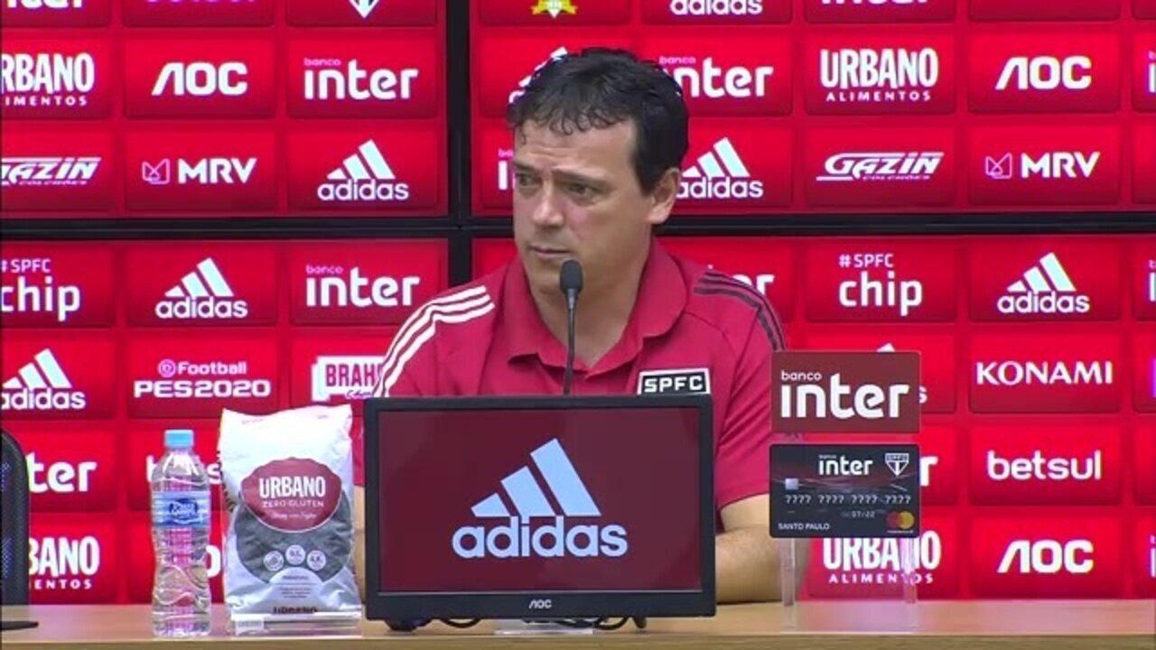 São Paulo 0 x 0 Corinthians: assista à entrevista de Fernando Diniz