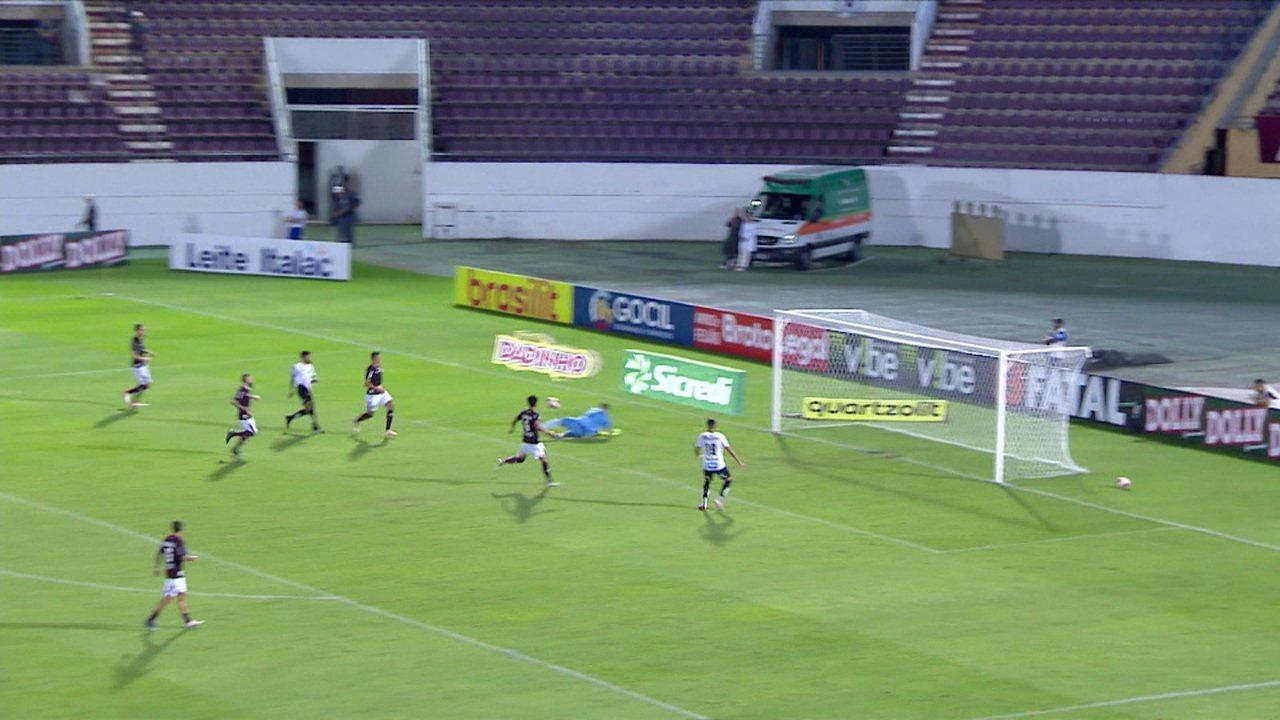 Melhores momentos de Ferroviária 0 x 0 Santos pela 6ª rodada do Campeonato Paulista