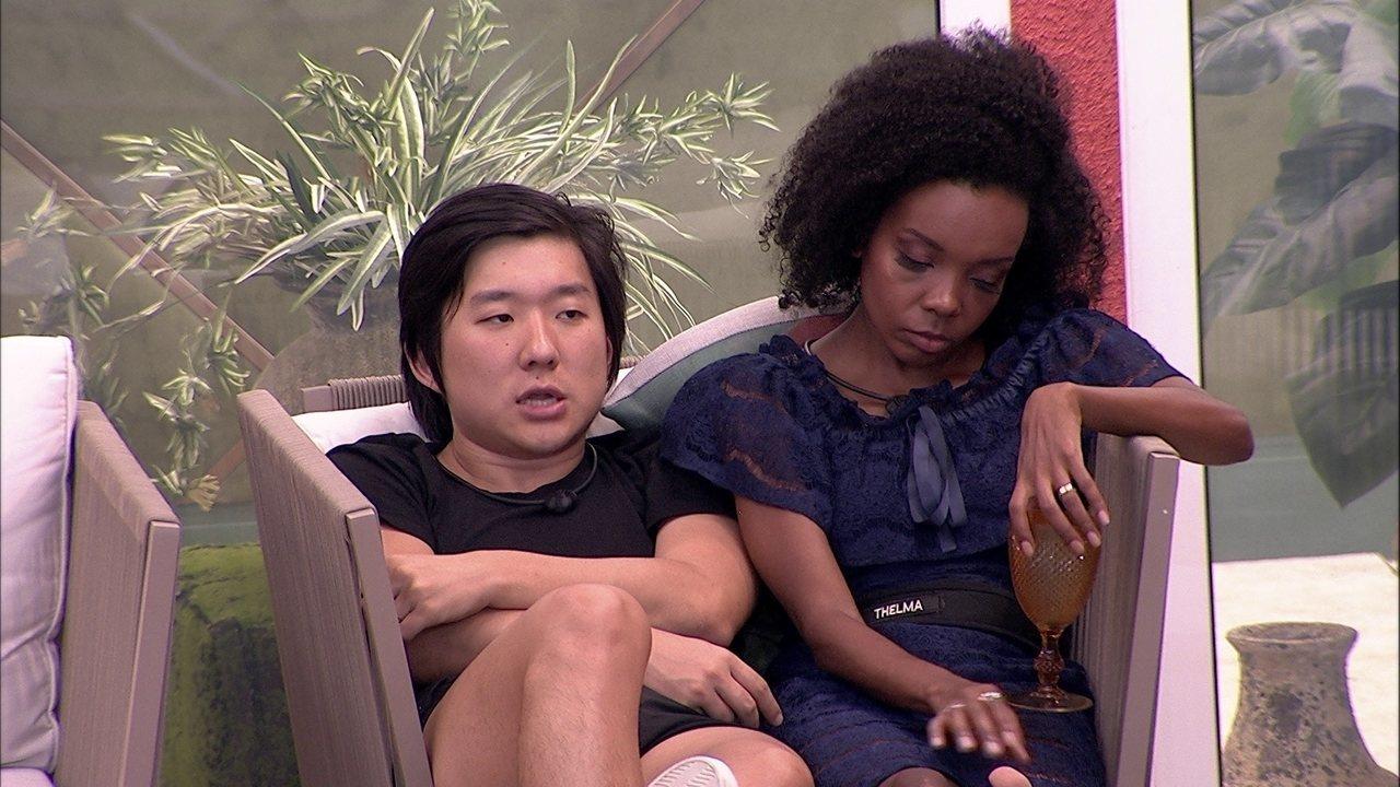 Thelma e Pyong falam de Guilherme: 'Ele está se comprometendo'