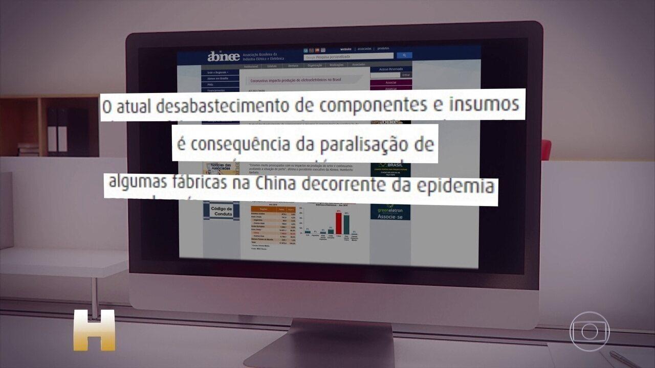 Novo coronavírus paralisa fábricas na China e afeta produção no Brasil