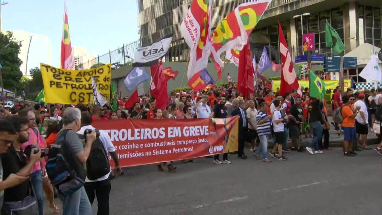 TRT determina suspensão temporária de demissões que motivaram greve na Petrobras