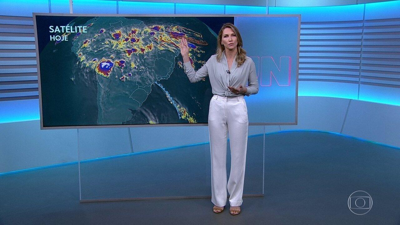 Veja a previsão do tempo para a sexta-feira (21)