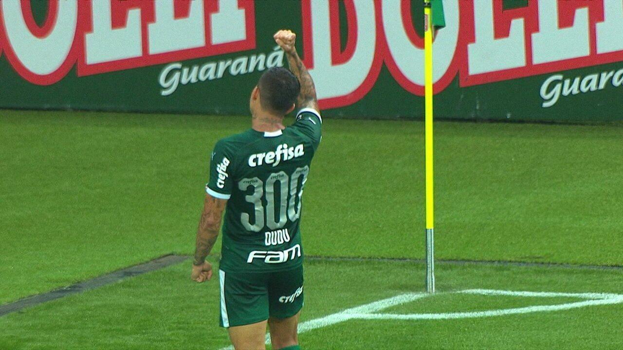 O gol de Palmeiras 1 x 0 Guarani pela 7ª rodada do Paulistão 2020