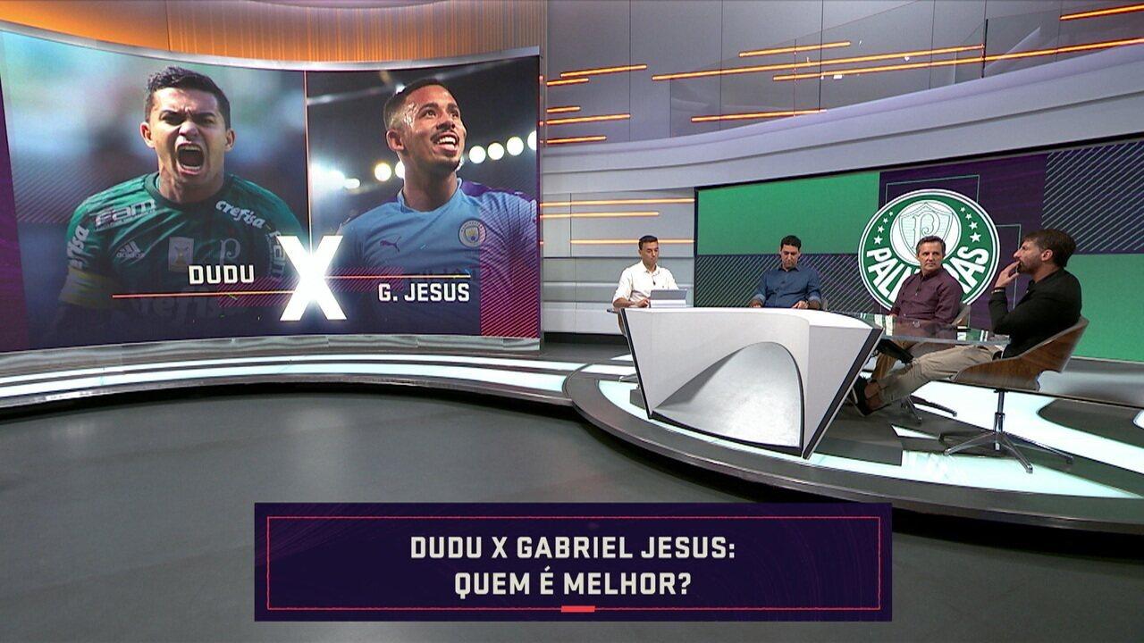 Quem é melhor? Comentaristas comparam Dudu, do Palmeiras, com outros jogadores
