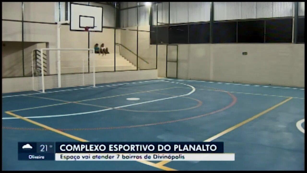 Complexo Esportivo é inaugurado em Divinópolis