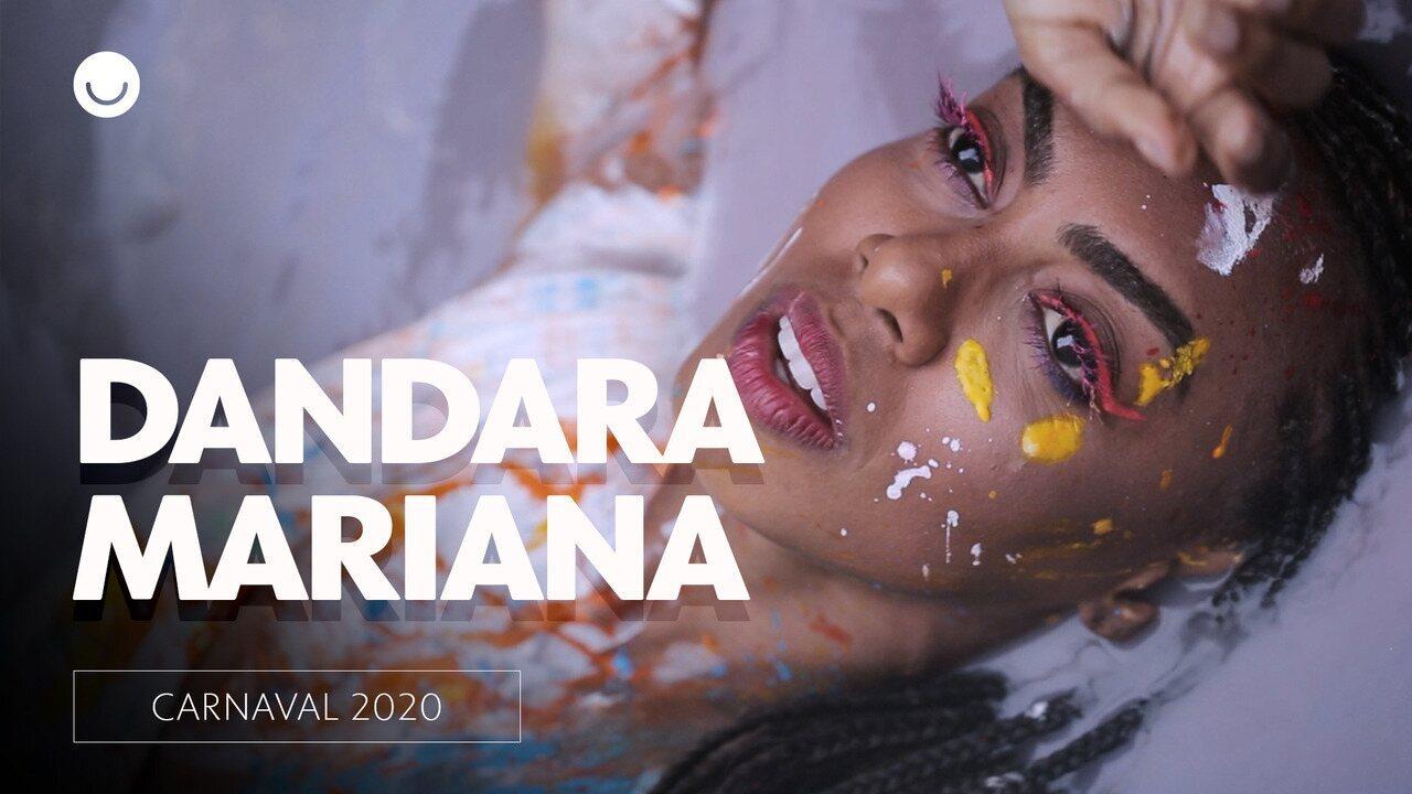 Bastidores do ensaio de carnaval com Dandara Mariana