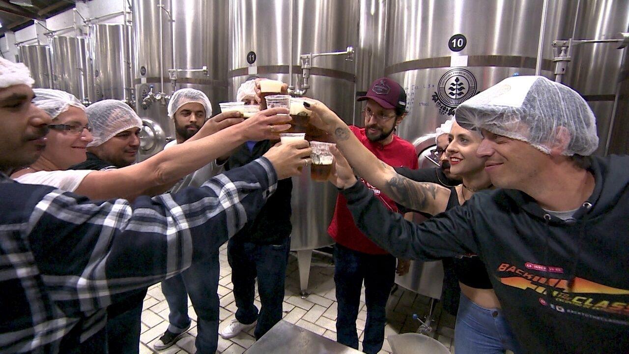 Cervejaria oferece passeio completo pela fábrica em Santo André, no ABC Paulista