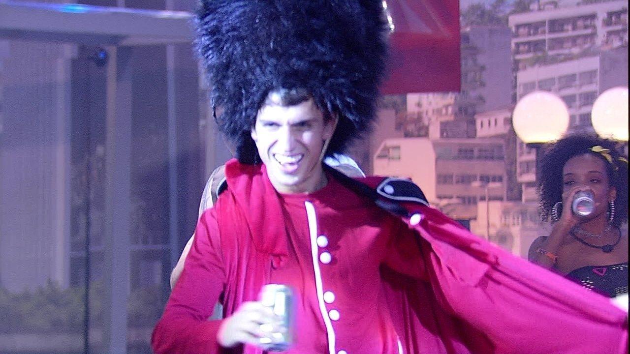 Felipe diverte brothers na Festa Favela e Asfalto