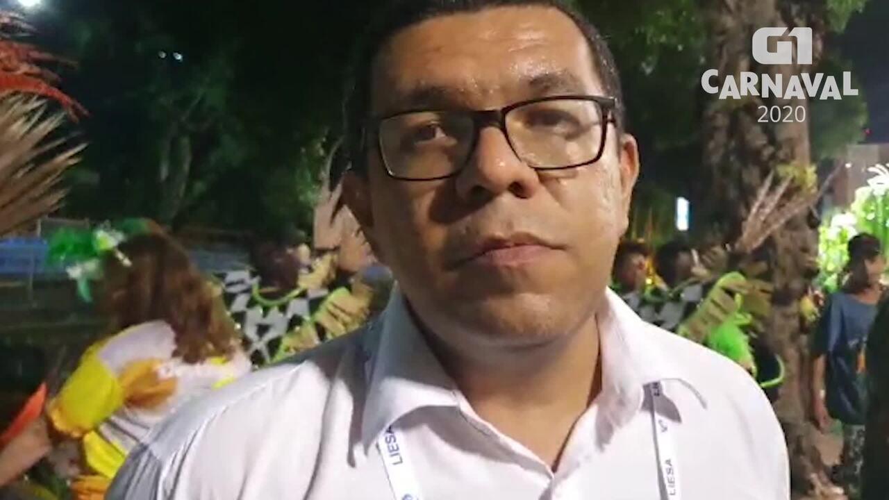 Carnavalesco Júnior Pernambucano comenta boatos sobre problemas na Império Serrano