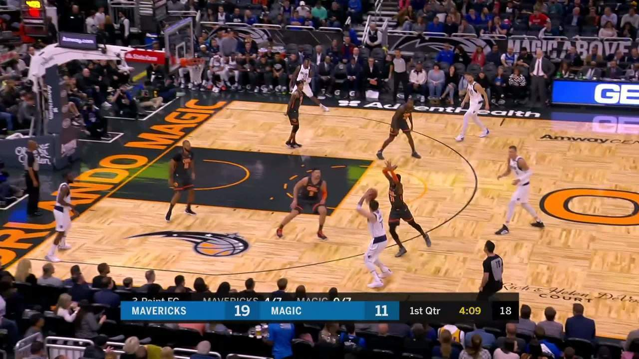 Melhores momentos: Dallas Mavericks 122 x 106 Orlando Magic pela NBA