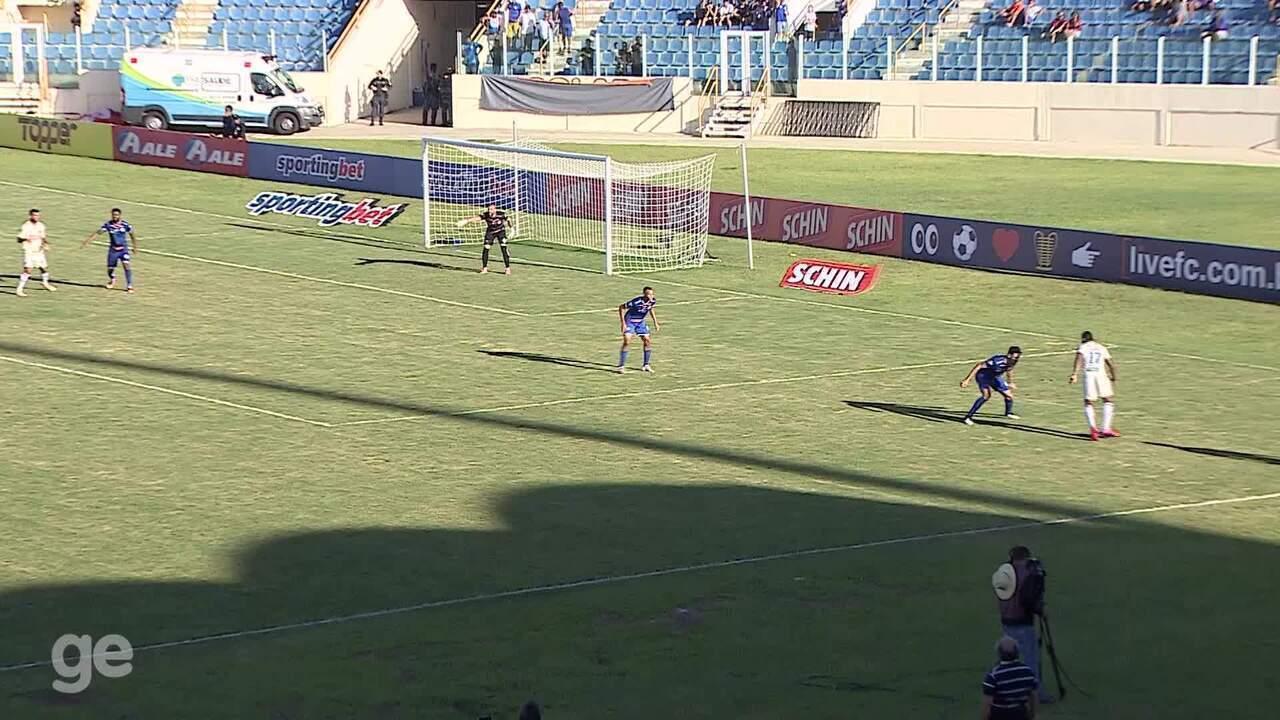 Veja os melhores momentos da vitória do Confiança sobre o Fortaleza pela Copa do Nordeste