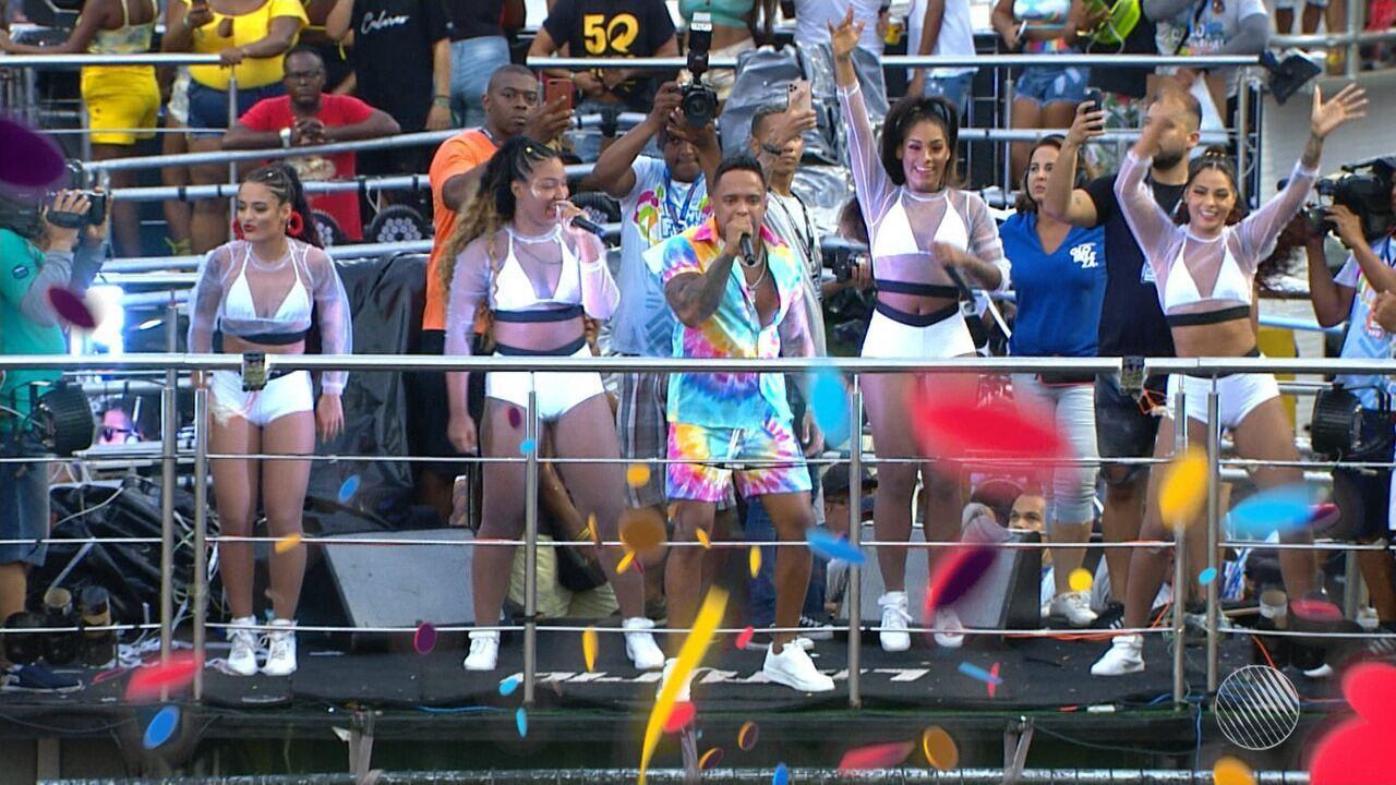 Saiba o que teve no circuito do Campo Grande, neste sábado de carnaval