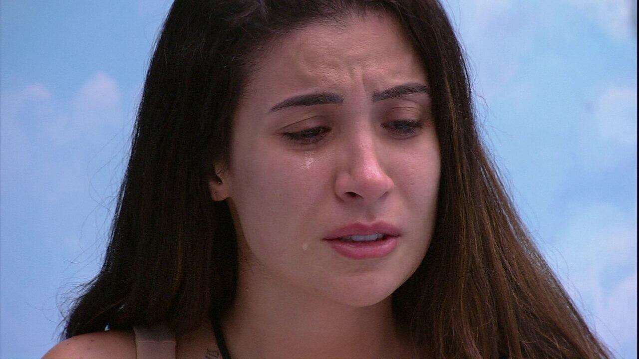 Bianca chora e comenta relação com Rafa: 'Isso, para mim, está ficando insuportável'