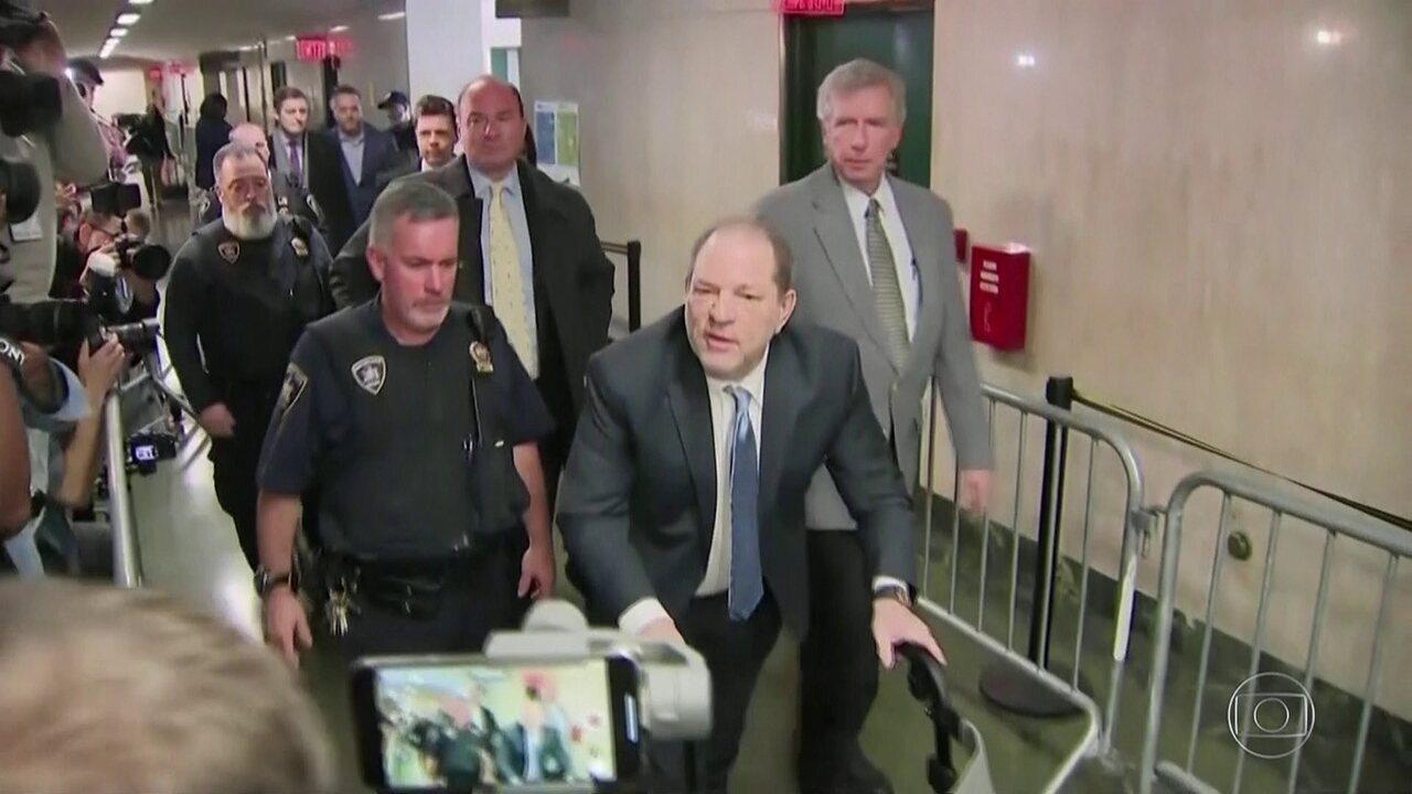 Justiça de NY condena ex-produtor Harvey Weinstein por crimes sexuais