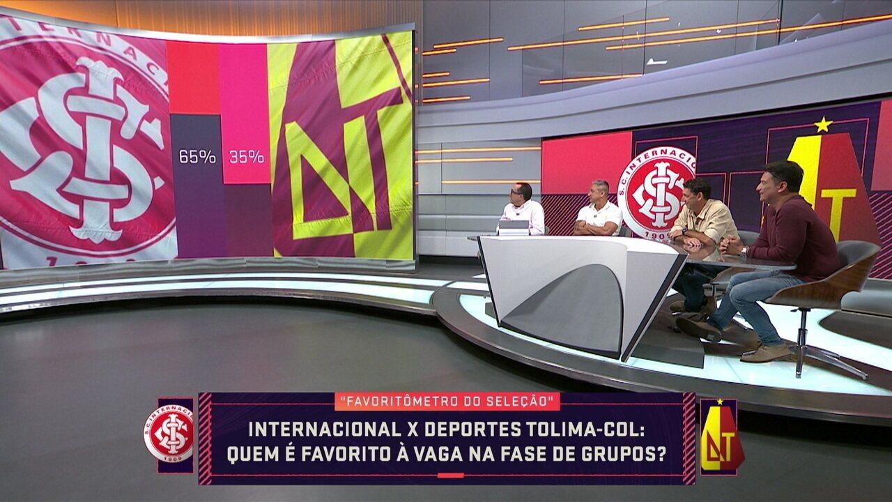 """""""Favoritômetro"""" do Seleção para Internacional x Tolima"""
