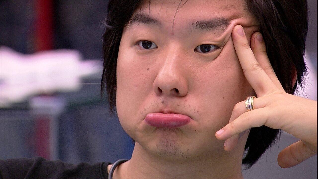 Pyong declara: 'Vou ter que ser o vilão'