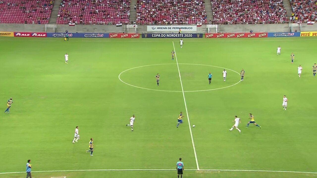 Melhores momentos de Santa Cruz 3 x 1 Freipaulistano, pela 5ª rodada da Copa do Nordeste