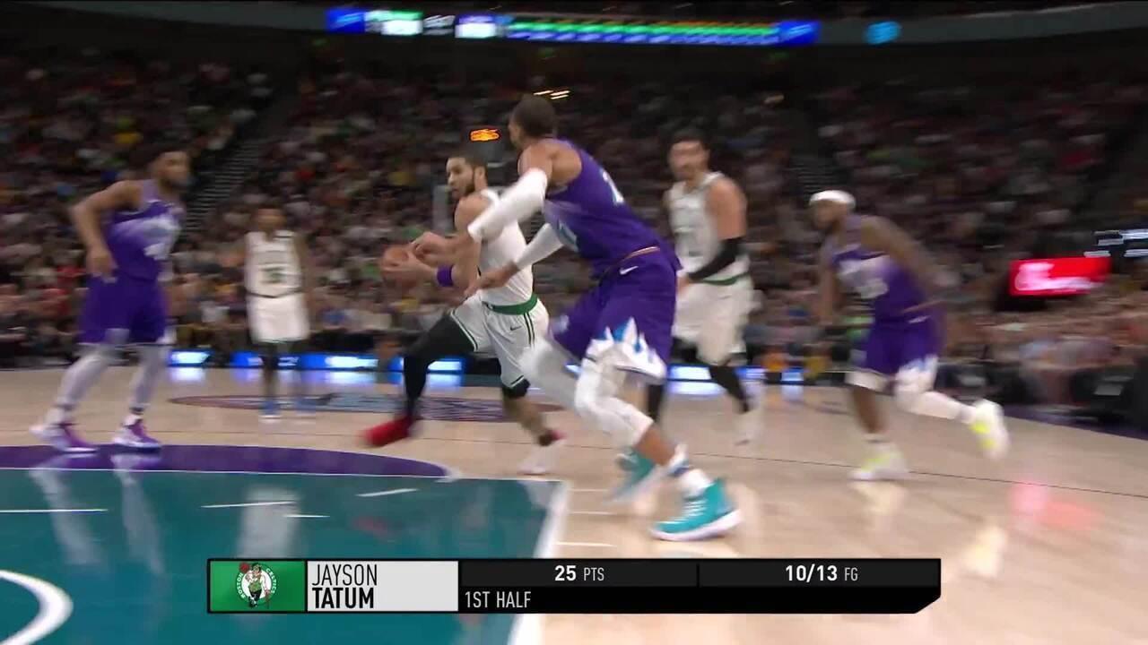 Melhores momentos de Utah Jazz 103 x 114 Boston Celtics pela NBA
