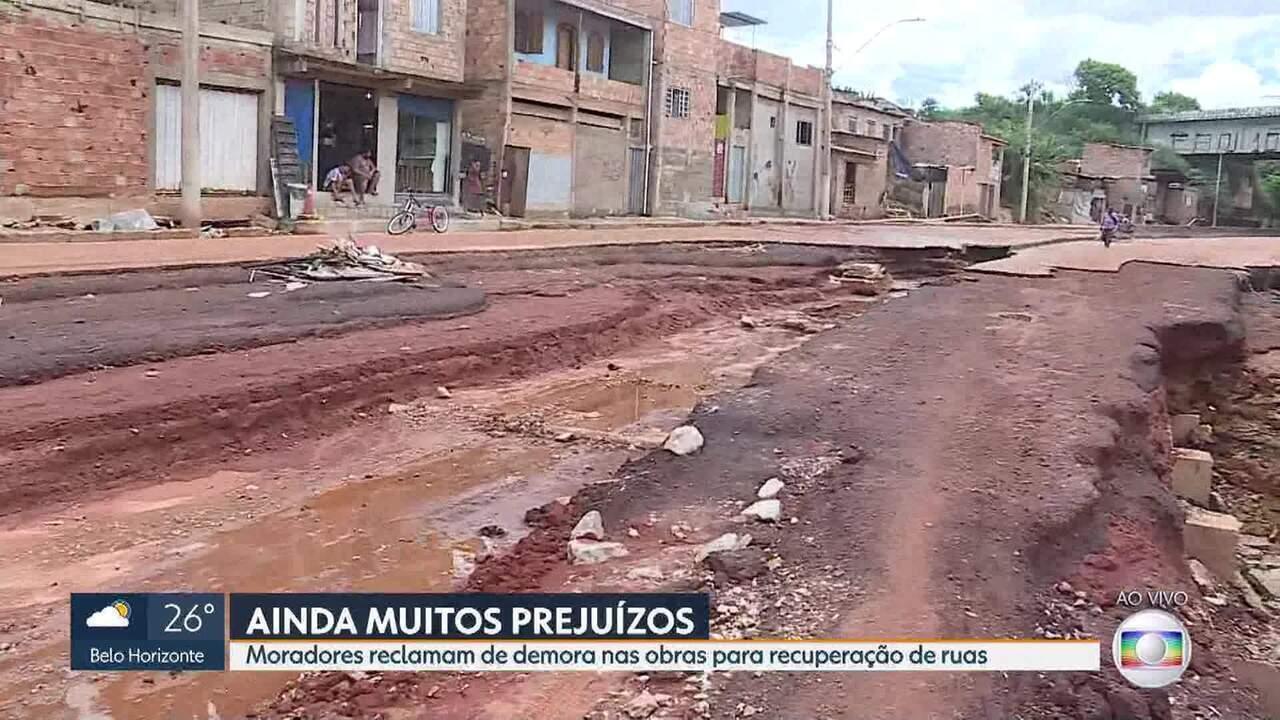 BH se recupera um mês após temporal que destruiu ruas da cidade