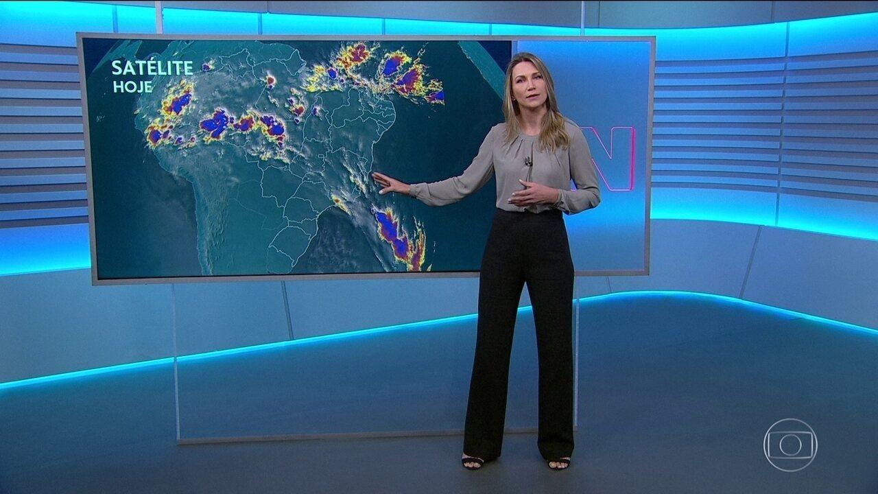 Veja a previsão do tempo para a sexta-feira (28)