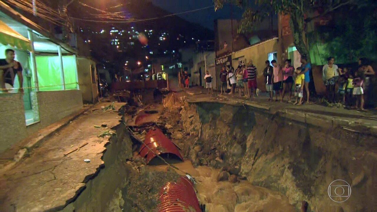 Radar RJ: Chuva faz mais duas vítimas na região metropolitana do RJ