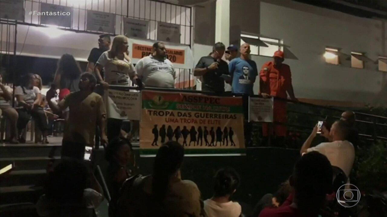Termina o motim de policiais militares no Ceará