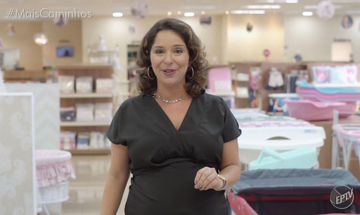 Reportagem no Mais Caminhos com dicas sobre como escolher carrinho de bebê