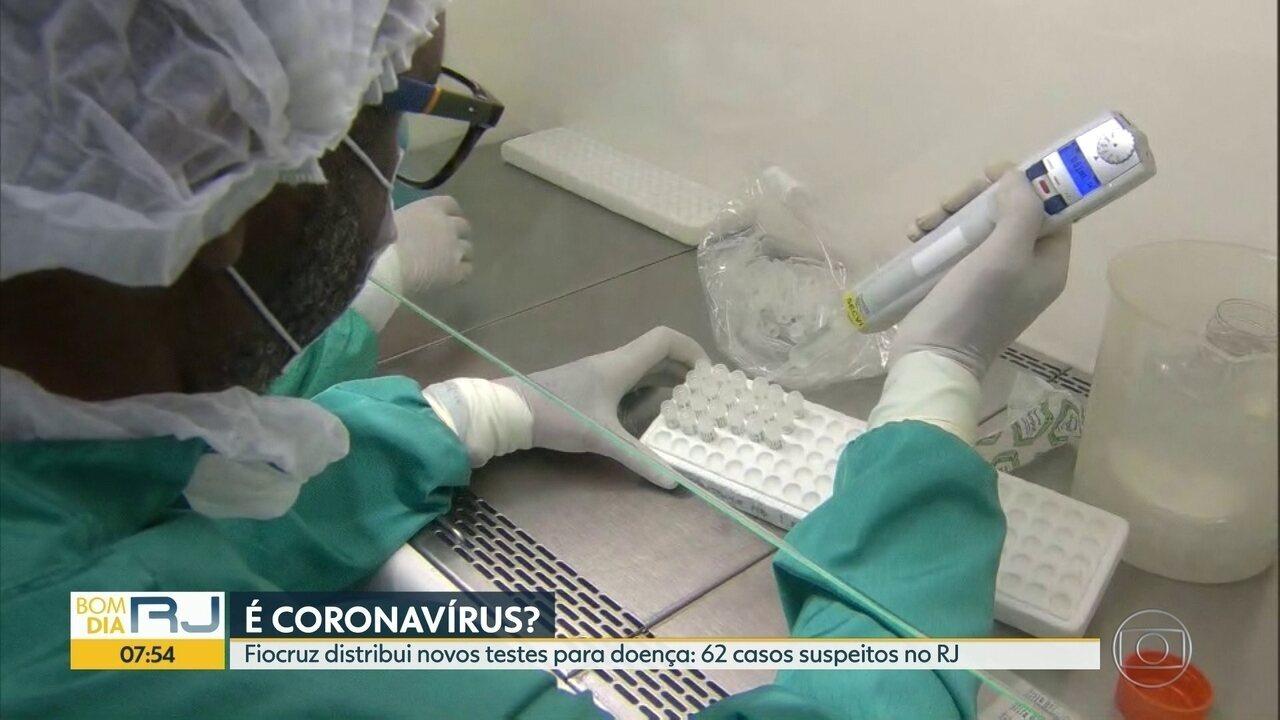 Fiocruz começa a distruibuir testes para coronavírus