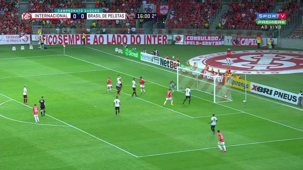 Veja Os Melhores Momentos De Inter 2 X 0 Brasil Pel Pelo Campeonato Gaucho Campeonato Gaucho Ge