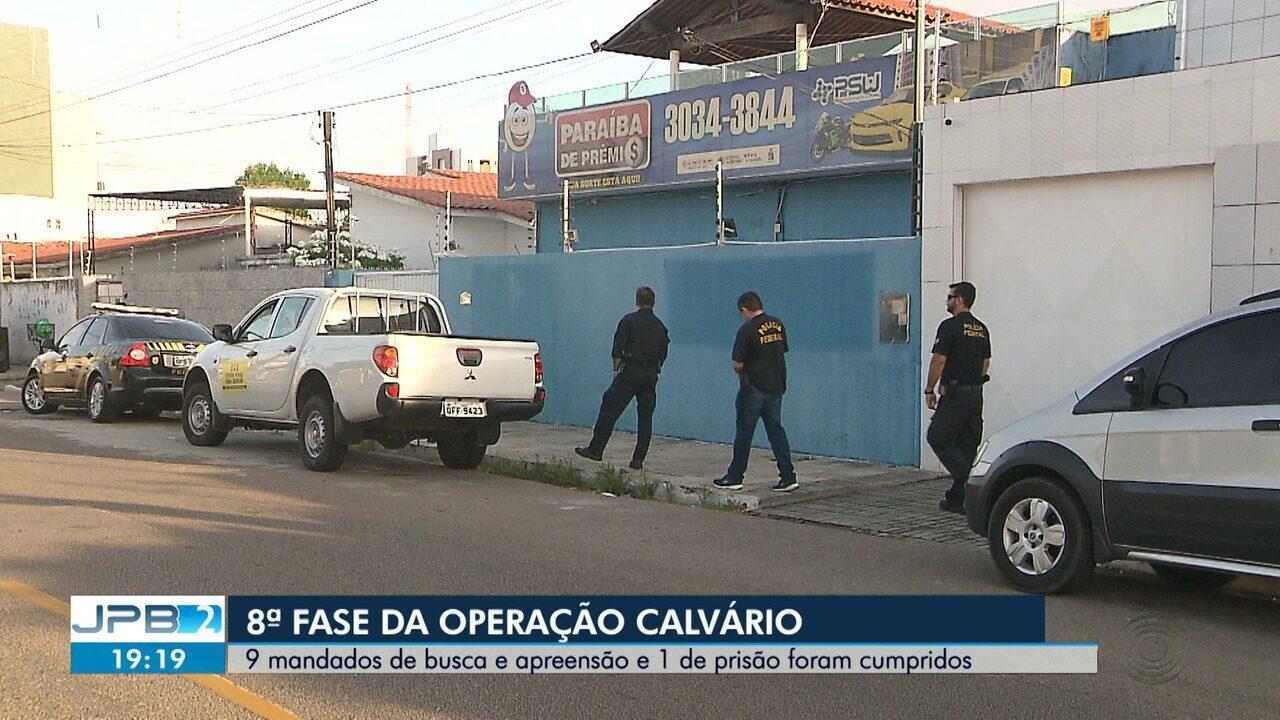 Gaeco e Polícia Federal desencadeiam 8ª Fase da Operação Calvário