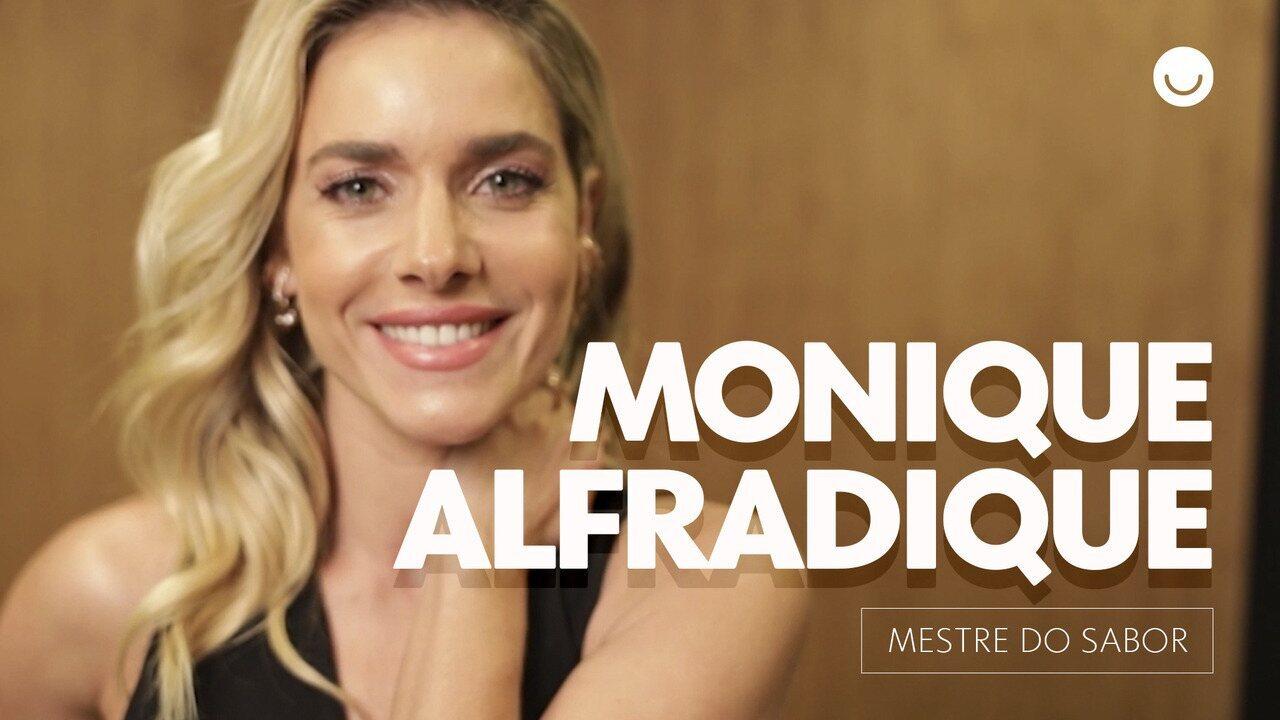 Monique Alfradique é a nova integrante do Mestre do Sabor