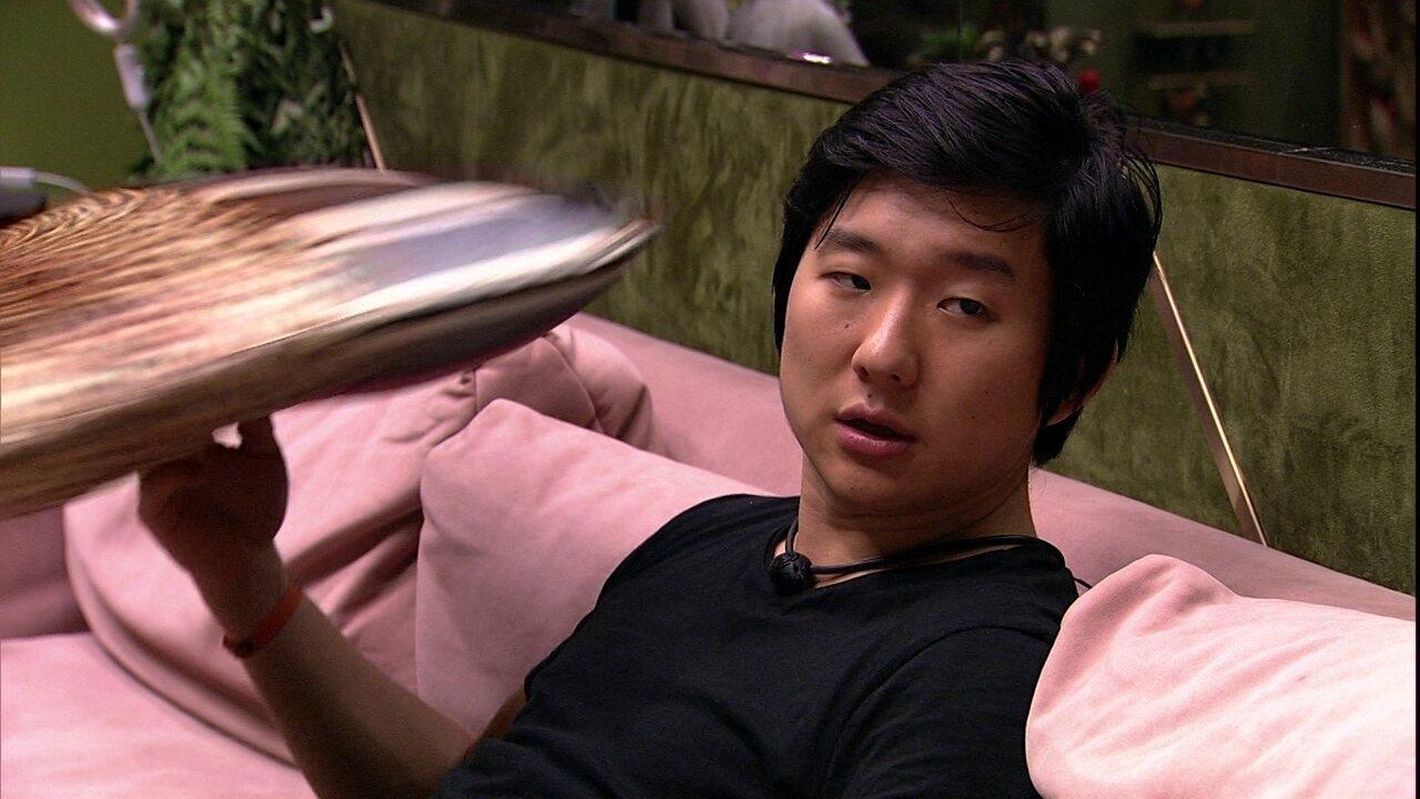 Pyong aponta sobre Thelma: 'Toda hora quer defender o Babu'