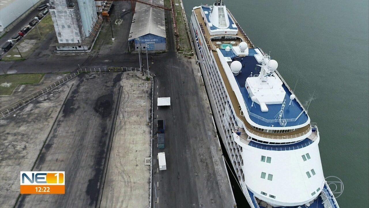 Anvisa diz que não há novos casos de coronavirus em navio que está isolado no Recife