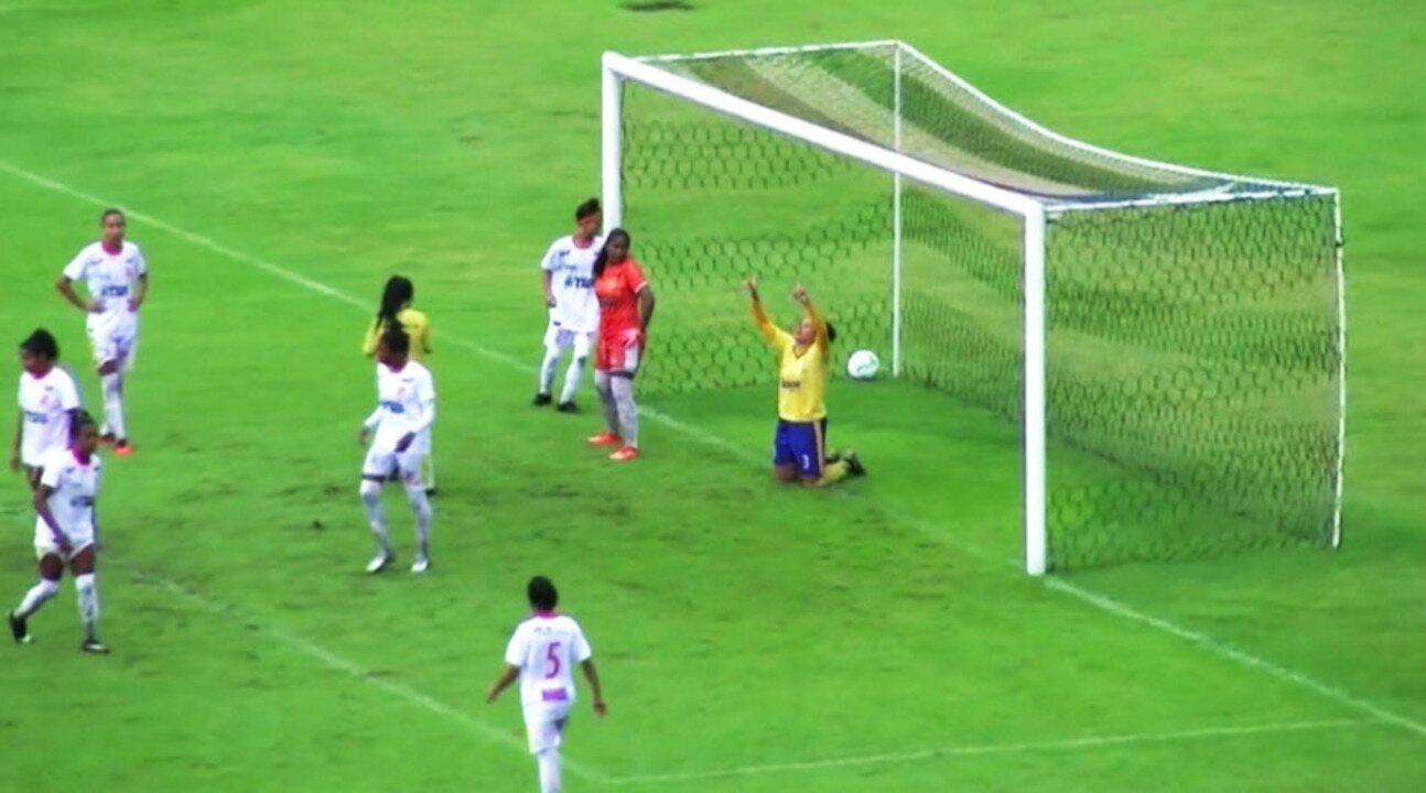 Os gols de Juventude-MA 1 x 3 Tiradentes-PI pela primeira rodada da Série A2 do Brasileiro